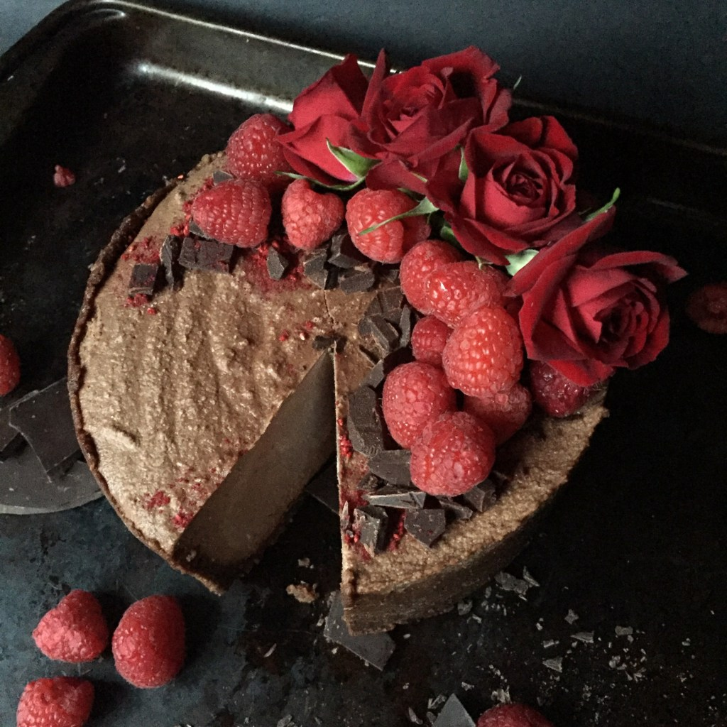 Double Chocolate Cheesecake (GF, DF, Raw, Paleo, Vegan)