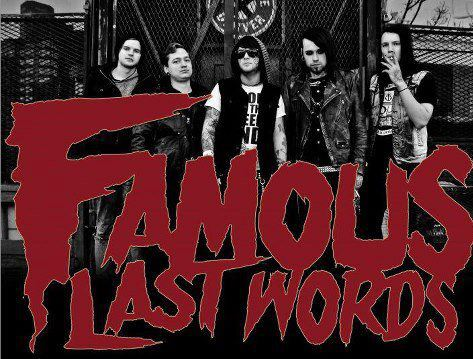 Concert Exclusive with Famous Last Words
