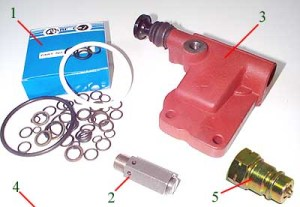 Ford  Hydraulic Valves & Parts  Bare Co