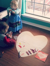 Creating the biggest valentine ever