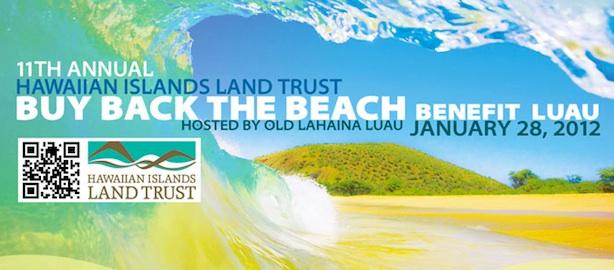 HILT buy back the beach banner