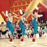 Andre Houle and Jeff Vandiver, Winners the first Crystal Light Aerobics Championship