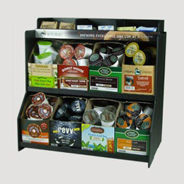 styrene rack for 8 k cup boxes