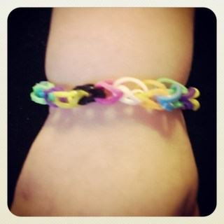 the bracelet Bean made for his sister
