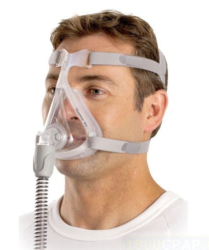 the CPAP machine is my new best friend, even if the mask does make me feel like Hannibal Lecter!