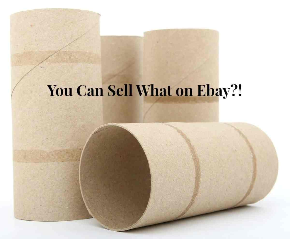 You Can Sell WHAT on Ebay?