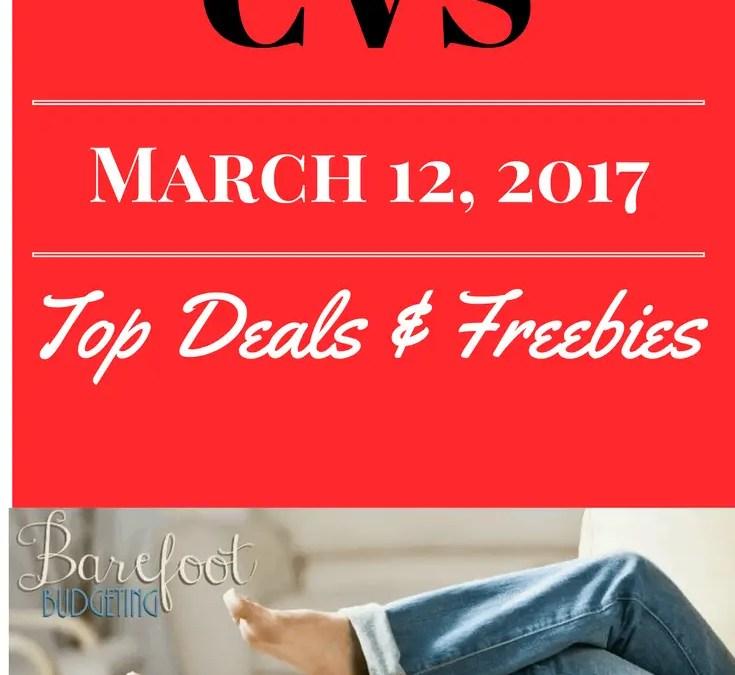 CVS Top Deals & FREEBIES wk: March 12, 2017
