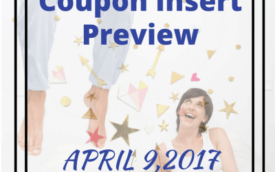 April 9, 2017 Coupon Insert Preview