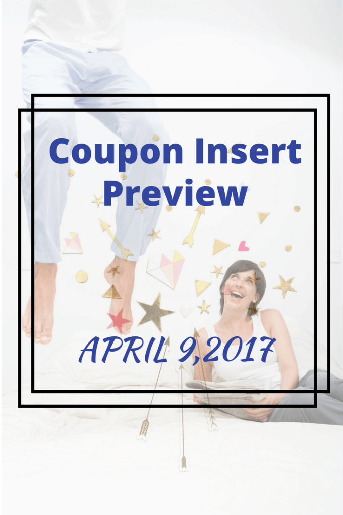 4/9/17 coupon insert preview matchup
