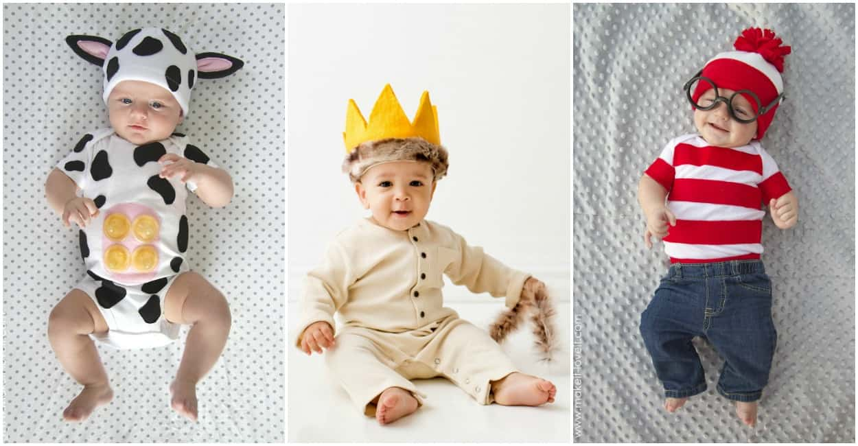 diy homemade baby halloween costumes