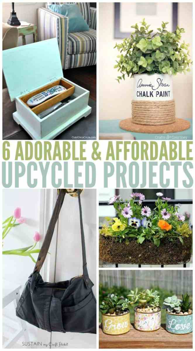 6 Easy DIY Upcyling Ideas for You