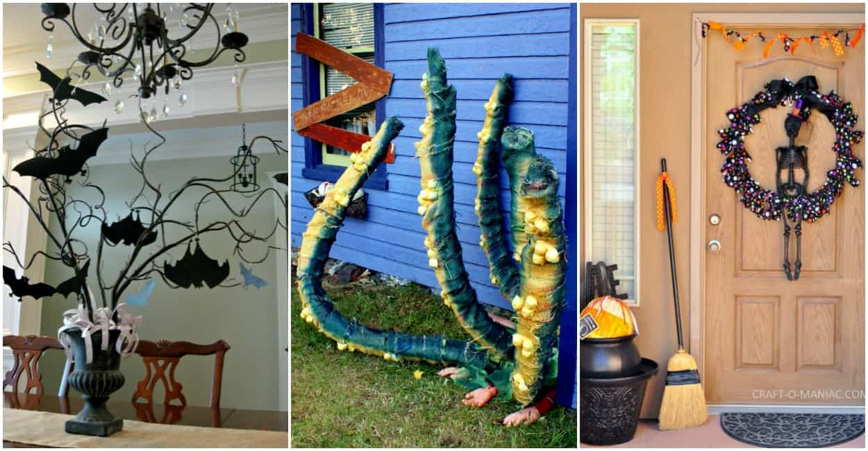 easy diy halloween decorations Easy DIY Halloween