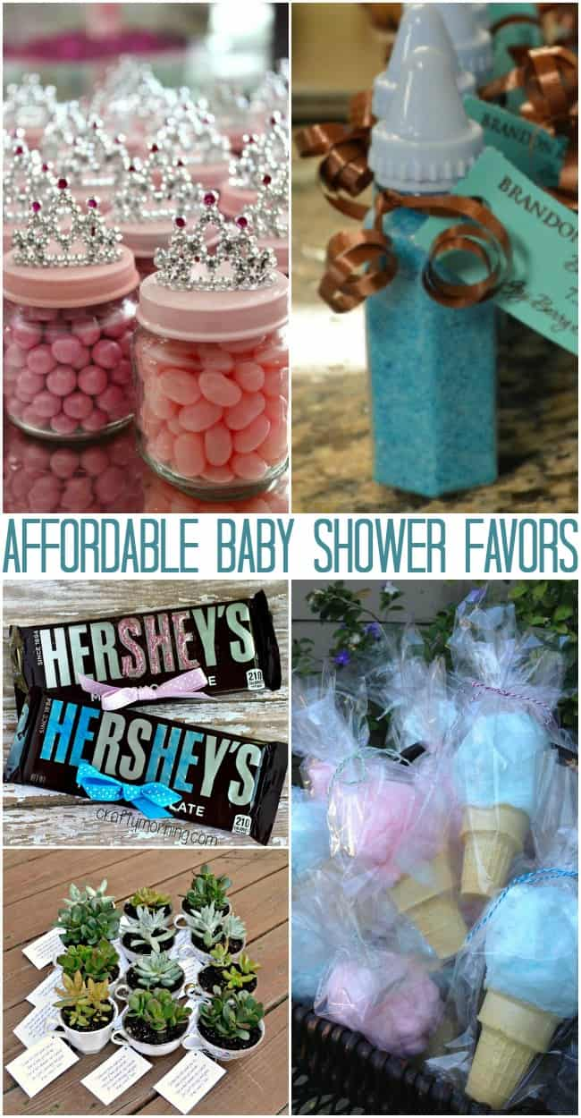 affordable baby shower favors