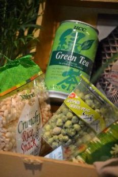 Green tea wasabi peas and crispy rice treats_small