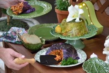 Our stuffed cabbage leaves dinner_small