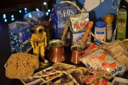 Greek Care Package I created from items bougtht in Tarpon Springs_small