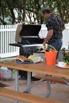 Gordon prepping the grill._small