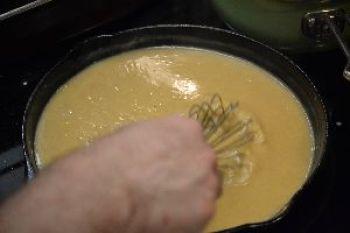 Gordon making our Easter gravy_small