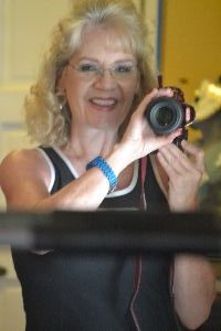 Julie with her camera_small