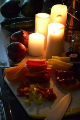 chopping veggies by candlelight_small