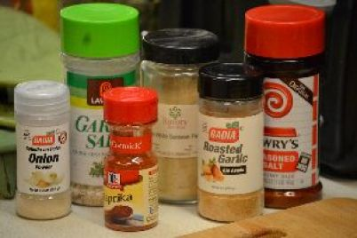 the spices for the batter_small