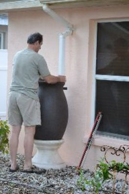 adjusting the rain barrel_small