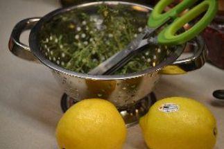 lemons with lemon thyme_small