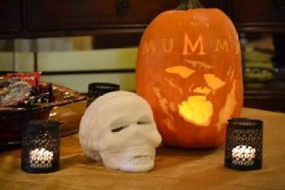 The Mummy pumpkin carving_small