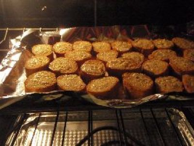 bake in the oven and then brown on broil_small