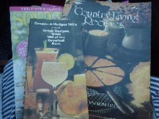 reading my thrift store cookbooks_small