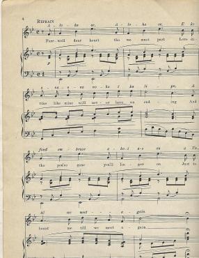 Aloha Oe Music Sheet 2