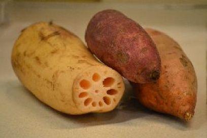 shrimp yam lotus root and sweet potato_small