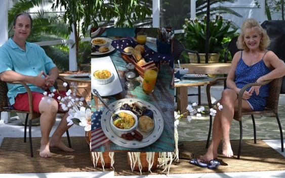 Our Stars and Stripes 4th. of July Breakfast