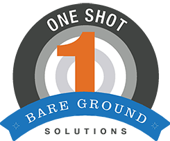 Bare Ground Solutions One Shot Logo