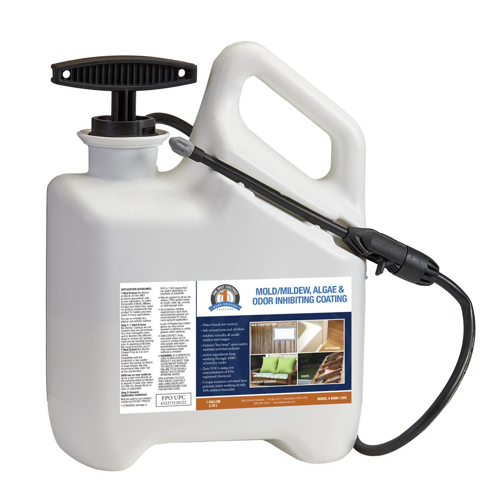 One Shot Mold Inhibiting Coating - One Gallon Preloaded Pump Sprayer