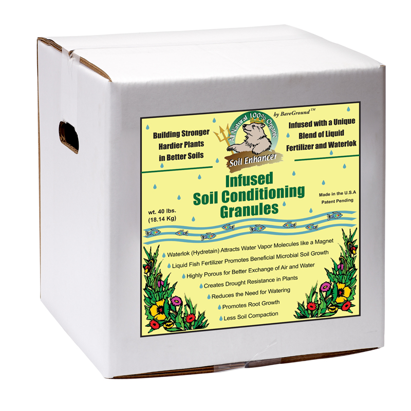 Just Scentsational Trident's Pride Fish Fertilizer 15lb Box Soil Conditioning Granules