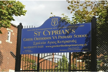 St Cyprian's Greek Orthodox Primary Academy is determined to fight attempts to overturn the ban on the pupil wearing a hajib