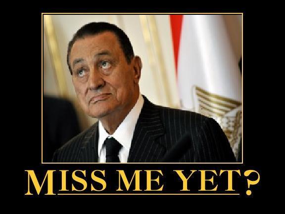 El derrocado presidente egipcio Hosni Mubarak: Pongo la Hermandad Musulmana en la cárcel, ahora están runining sus vidas.