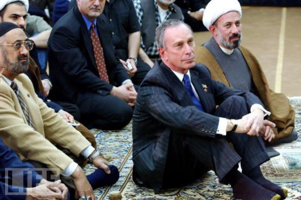 Bloomberg at a NYC mosque