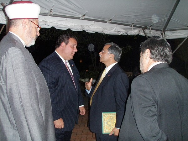 Gov. Chris 'Dhimmi' Christie has a soft spot for Muslim terrorist supporters. He even appointed one to the high court.