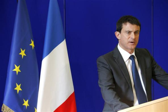 French Interior Minister Manuel Valls told a conference that several 'radical foreign preachers' will be expelled