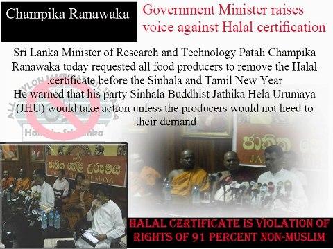 SRI-LANKA-Government-Minister-Raises-Voice-Against-Halal