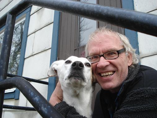VILKS and his dog