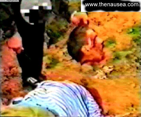 Russian soldier beheaded by Chechecn Muslim