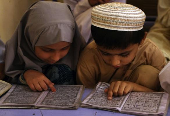 Little Islamists in training