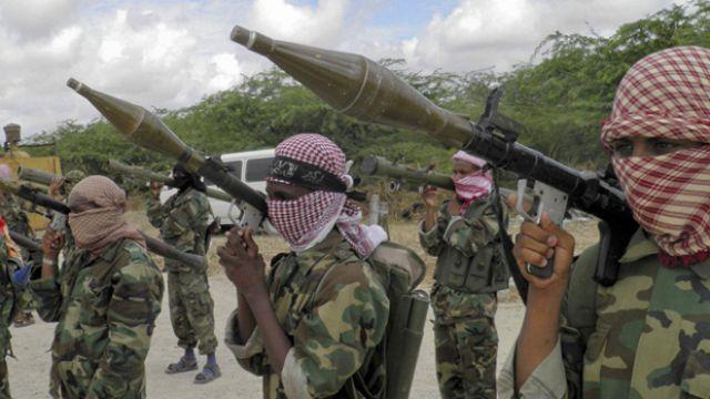 Al-Qaeda offshoot Al-Shabaab in Somalia