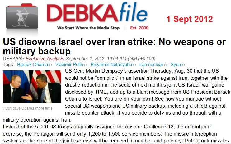 debka_us_disowns_israel_over_iran_attack