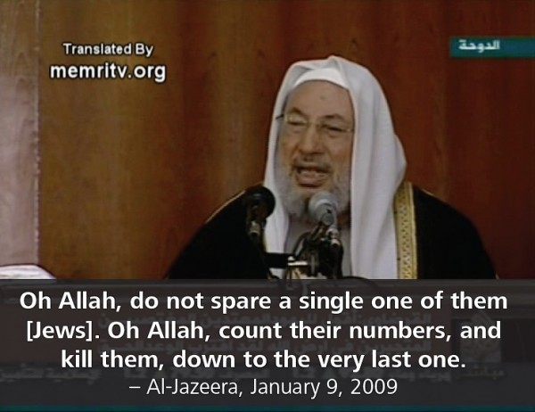 Qaradawi-al-Jazeera-9-janvier-2009-e1370644075610