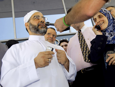 "When serving as U.S. attorney for New Jersey, Christie embraced and kissed Mohammed Qatanani, imam of the Islamic Center of Passaic County, and praised him as ""a man of great goodwill."" He did this after Qatanani had publicly ranted against Jews and in support of funding Hamas, a U.S. government–designated terror organization, and on the eve of his deportation hearing for hiding an Israeli conviction for membership in Hamas. In addition, Christie designated a top aide, Assistant U.S. Attorney Charles McKenna, to testify as a character witness for Qatanani"
