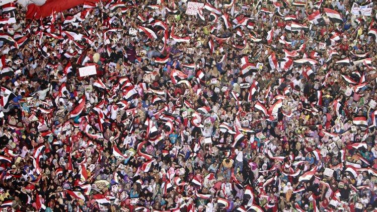 Anti-Morsi supporters